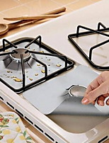 cheap -2Pcs Reusable Foil Gas Hob Range Stovetop Burner Protector Liner Cover For Cleaning