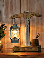 Ambient Light Country Table Lamp AC Powered 220V