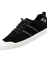 cheap -Men's Shoes PU Winter Comfort Sneakers For Casual Khaki Gray Black