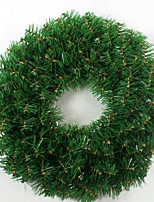 Adornos navideños 1pc guirnalda para decoraciones navideñas 45 * 45