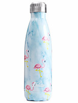 Casual/Daily Drinkware, 500 StainlessSteel Water Water Bottle