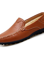 Men's Shoes Rubber Spring Fall Comfort Loafers & Slip-Ons For Outdoor Brown Yellow Black