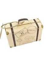 Cuboid Card Paper Favor Holder 53 Bandage Favor Boxes-50 pcs