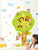 Animal Wall Stickers Plane Wall Stickers Decorative Wall Stickers,Paper Vinyl Material Home Decoration Wall Decal