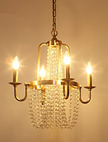 cheap -Rustic/Lodge Traditional/Classic Chandelier For Living Room Bedroom Dining Room AC 110-120 AC 220-240V Bulb Not Included