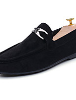 Men's Shoes PU Spring Fall Comfort Loafers & Slip-Ons For Outdoor Red Black