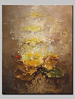 Hand-Painted Abstract Vertical,Simple Modern One Panel Canvas Oil Painting For Home Decoration