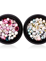 cheap -1 Nail Art Decoration Rhinestone Pearls Makeup Cosmetic Nail Art Design