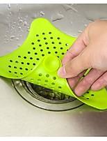 Silica Gel Bathroom Stopper Strainer Filter Drainer Hair Catcher Shower Cover Sink Basin Filter Ramdon