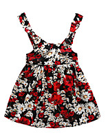 Girl's Going out Floral Dress,Cotton