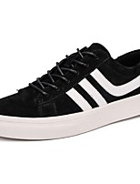 Men's Shoes PU Fall Winter Comfort Sneakers For Casual Office & Career Khaki Gray Black
