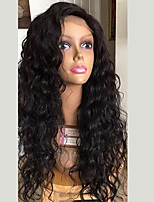 cheap -HOT!! Curly Lace Front Wigs Brazilian Human Hair Wigs  Glueless Lace Front Wigs Virgin Hair Wigs with Baby Hair