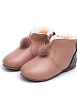 economico -Da ragazza Scarpe Di pelle PU (Poliuretano) Inverno Autunno Scarpe da cerimonia per bambine Fodera di lanugine Stivaletti