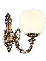 Wall Light Uplight Wall Sconces 5W 220-240V 110-120V E26/E27 Rustic/Lodge Retro/Vintage Brass