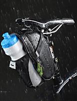 Bolsa para Bicicleta Bolsa para Guardabarro Cremallera impermeable Listo para vestir Fácil de Instalar Bolsa para Bicicleta Fibra de