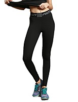 Women's Running Pants Pants / Trousers for Yoga Running/Jogging Exercise & Fitness Elastane Terylene Black XXL XL L M