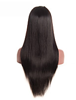 cheap -Brazilian Straight Hair Wig Pre Plucked Lace Front Human Hair Wigs With Baby Hair