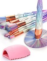 Недорогие -7 шт Наборы кистей Синтетические волосы Экологичные Для профессионалов Закрытая чашечка Пластик Глаза Нос Лицо