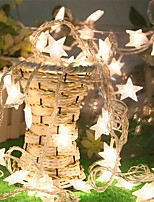 3m 30 ha condotto la luce fredda delle luci di natale della batteria della stella delle luci di natale per la festa nuziale di festa