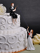 Cake Topper Wedding Friends Plexiglas Wedding Party  Gift Box