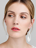 Women's Hoop Earrings Rhinestone Basic Rhinestone Jewelry For Wedding Party
