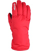 cheap -Ski Gloves Unisex Full-finger Gloves Keep Warm Waterproof Windproof Poly&Cotton Blend Ski / Snowboard Hiking Outdoor Exercise Cycling /