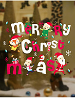 Christmas Wall Stickers Decals Decorative Wall Stickers,Paper Material Home Decoration Wall Decal