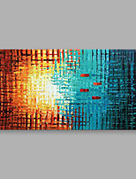 cheap -Hand-Painted Abstract Horizontal,Modern One Panel Canvas Oil Painting For Home Decoration