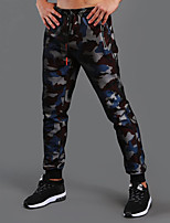 Men's Running Pants Pants / Trousers for Running/Jogging Exercise & Fitness Cotton Terylene Blue Red Black XXL XL L M S