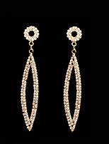 cheap -Women's Drop Earrings Cubic Zirconia Rhinestone Fashion Elegant Cubic Zirconia Rhinestone Geometric Jewelry For Wedding Evening Party