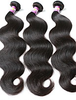 cheap -Brazilian Wavy Human Hair Weaves 3pcs 3 Pieces 0.3
