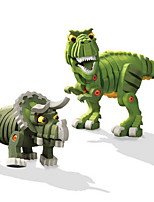 DIY KIT Building Blocks Toys Dinosaur Animal Classic Kids 2 Pieces