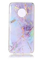 cheap -Case For Motorola MOTO G5 Plus MOTO G5 IMD Pattern Back Cover Marble Soft TPU for Moto G5 Plus Moto G5 Moto C plus Moto C