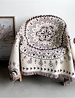 Flannel Geometic Pure Cotton Blankets