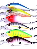 6 pcs leurres de pêche Manivelle g/Once mm pouce Pêche au leurre