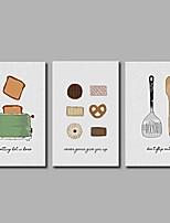 Pop art moderne 3 pièces mur art pour la décoration de la chambre 20x28inchx3