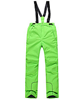 Phibee Ski Pants Ski Trousers Men's Ski & Snowboard Warm Waterproof Windproof Wearable Breathability Anti-static Polyester Warm Pants