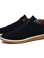Men's Shoes Fabric Fall Winter Comfort Sneakers For Casual Outdoor Blue Brown Black
