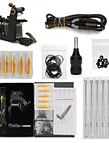 cheap -Tattoo Kit 1 Green Coil Tattoo Machine 1 Grip and Other Accessories Tattoo Machine