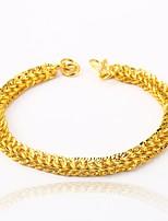 preiswerte -Herrn Damen Ketten- & Glieder-Armbänder Geschenk vergoldet Schmuck Für Hochzeit Verlobung