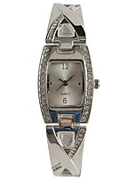 cheap -Women's Wrist watch Japanese Quartz Casual Watch Alloy Band Casual Silver
