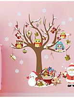 Noël Stickers muraux Stickers Autocollants muraux décoratifs,Matériel water proof Matériel Décoration d'intérieur Calque Mural For Mur