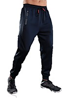 Men's Running Pants Pants / Trousers Running/Jogging Exercise & Fitness Terylene Black Grey Royal Blue S M L XL XXL