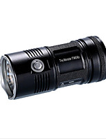 Nitecore TM06S LED Flashlights / Torch LED 4000 lm 5 Mode Cree XM-L L2 LED Flashlight Water Resistant / Water Proof Multi-Functional