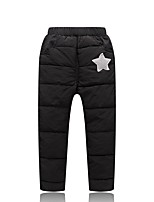 cheap -Girls' Solid Pants,Polyester Winter Fall Casual Active Blue Black Red