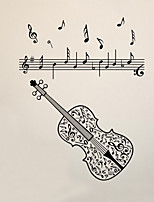 Music Fashion Wall Stickers Plane Wall Stickers Decorative Wall Stickers,Vinyl Home Decoration Wall Decal For Wall