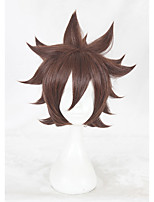 cheap -14inch  Short Brown AOTU World An Mixiu Wig Synthetic Anime Hair Cosplay Costume Wigs CS-348D