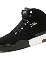 cheap -Men's Shoes Rubber Spring Fall Comfort Sneakers Walking Shoes Booties/Ankle Boots Hollow-out For Outdoor Black/Gold Gray Black