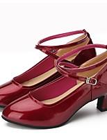 "cheap -Women's Modern Faux Leather Sneaker Outdoor / Customized Heel Red 2"" - 2 3/4"" Customizable"