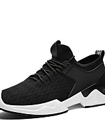 cheap -Men's Shoes Fabric Spring Fall Light Soles Sneakers Buckle For Casual Gray Black